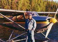Doug Chisholm with his